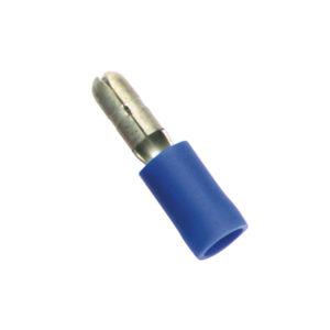 BLUE MALE BULLET TERMINAL - 100PK