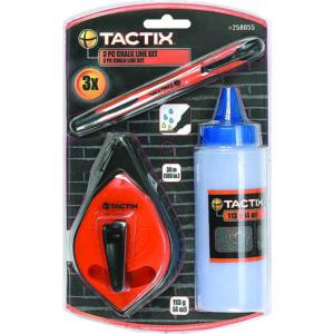TACTIX - CHALK LINE 3PC SET