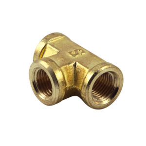 1/8IN BSP BRASS FEMALE TEE (BP)