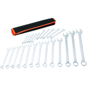 TACTIX - 23PC COMBINATION SPANNER SET - METRIC