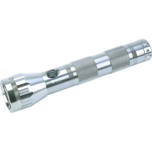 TACTIX - 250MM TORCH ALUMINIUM 2 X D / 9 X LED