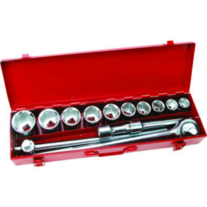 ONSITE - 15PC SOCKET SET 3/4IN DR - METRIC