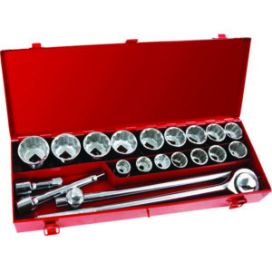 ONSITE - 21PC SOCKET SET 3/4IN DR - SAE