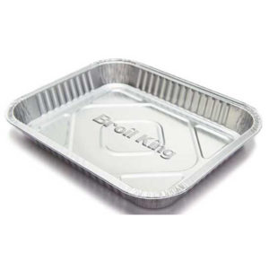 BROIL KING LARGE DRIP PAN - 3 PACK