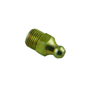 M6 X 1.00MM STRAIGHT GREASE NIPPLE - 40PK