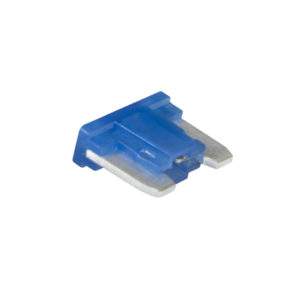15AMP LOW PROFILE MINI BLADE FUSE (BLUE) - 15PK