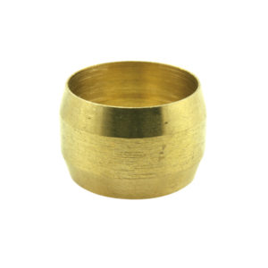 6MM BRASS COMPRESSION TYPE OLIVE - 30PK