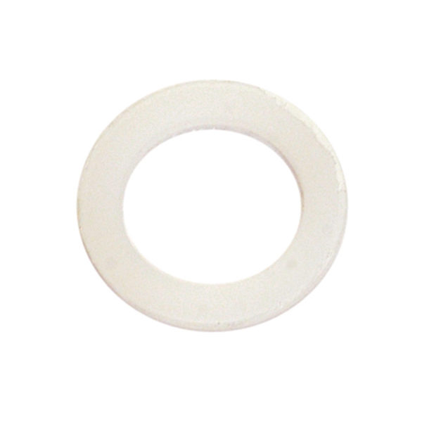 3/16IN X 1/2IN X 1/32IN POLYPROPYLENE WASHERS