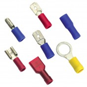 MALE LANCED PUSH-ON TERMINAL - 20PK