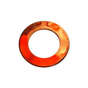 1/4IN X 9/16IN X 20G COPPER WASHER - 35PK