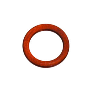 M10 X 14MM X 1.0MM COPPER RING WASHER - 25PK