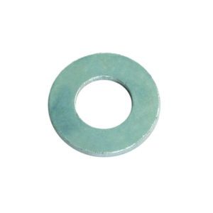 1/4IN X 9/16IN X 18G FLAT STEEL WASHER - 50PK
