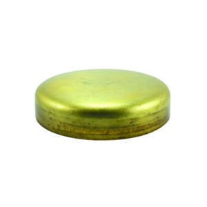 2IN BRASS EXPANSION (FROST) PLUG - CUP TYPE - 2PK
