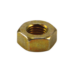 1/4IN UNC HEXAGON NUT - 20PK