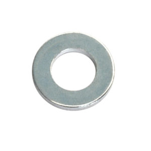 1/4IN X 9/16IN X 18G FLAT STEEL WASHER - 150PK