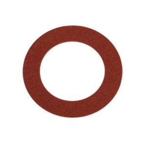 1/8IN X 5/16IN X 1/32IN RED FIBRE WASHER - 50PK