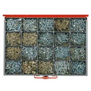 1680PC COMBINATION SELF TAPPING SCREW ASSORTMENT