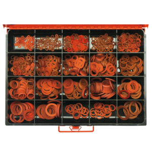 1032 MASTER RED FIBRE WASHER ASSORTMENT