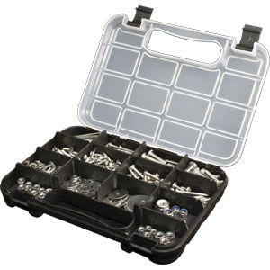 210PC STAINLESS STEEL ASSORTMENT KIT