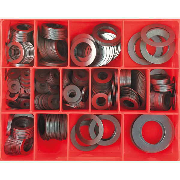 545PC 1/32IN STEEL SPACING WASHER ASSORTMENT