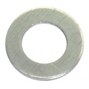 M5 X 10MM X 1.6MM ALUMINIUM WASHER - 100PK