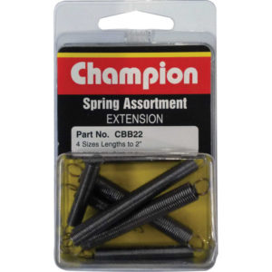 8PC EXTENSION SPRING ASSORTMENT