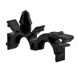 9MM UNIVERSAL PIPE CLIP BLACK - 50PK