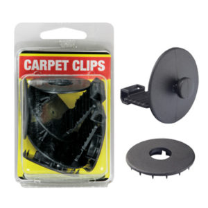 CARPET CLIPS - SET OF 2 (GREY)
