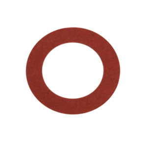 3/4IN X 1IN X 1/16IN RED FIBRE WASHER - 100PK