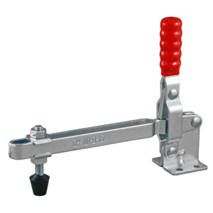 TOGGLE CLAMP VERTICAL FLANGED BASE 180KG CAP