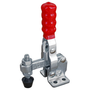 TOGGLE CLAMP VERTICAL FLANGED BASE 91KG CAP