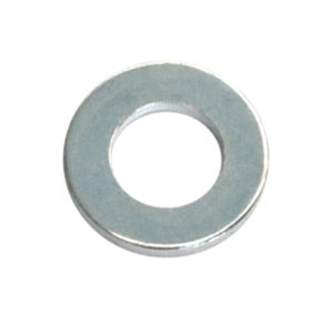 1/4IN X 9/16IN X 14G H/DUTY FLAT STEEL WASHER