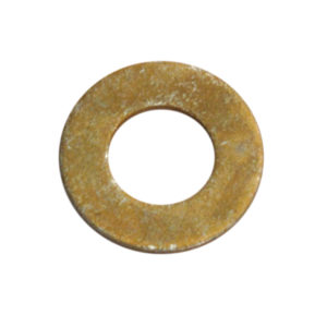 3/8IN X 13/16IN X 16G HT FLAT STEEL WASHER - 100PK