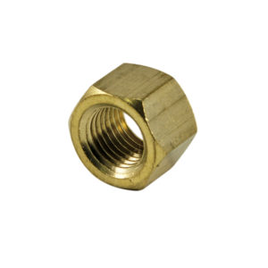 M10 X 1.50MM BRASS MANIFOLD NUT - 25PK