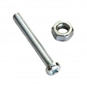 316/A4 MACHINE SET SCREW & NUT - PAN 6 X 50 (A)