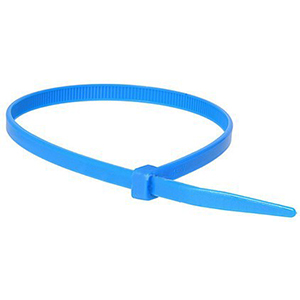 ISL 200 X 4.8MM NYLON CABLE TIE - BLUE - 100PK