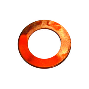 1IN X 1-1/2IN X 20G COPPER WASHER - 50PK