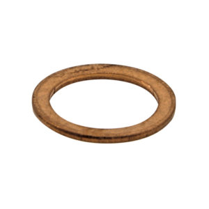 M10 X 14MM X 1.0MM COPPER RING WASHER - 100PK