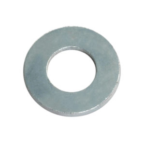 1/4IN X 9/16IN X 18G FLAT STEEL WASHER - 200PK
