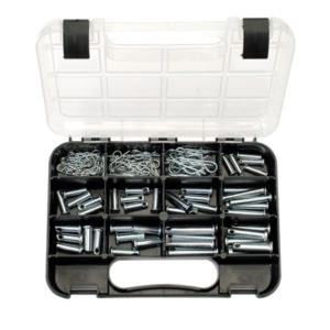 GJ GRAB KIT 105PC CLEVIS PINS