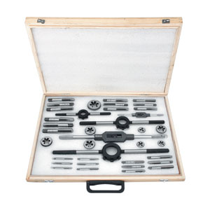 GROZ 37 PIECE METRIC TAP & DIE SET (M6-M20)