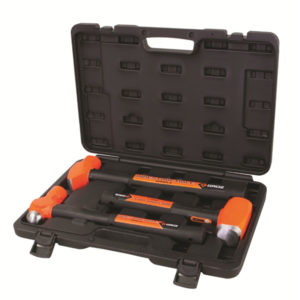 3PC GROZ INDESTRUCTIBLE HANDLE HAMMER KIT (1)
