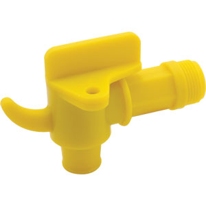 GROZ LOCKABLE PLASTIC 20L / 208L DRUM TAP