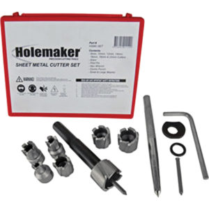 HOLEMAKER SHEET METAL CUTTER SET 13 PIECE 8 - 20MM