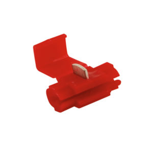 RED WIRE TAP CONNECTOR - 100PK