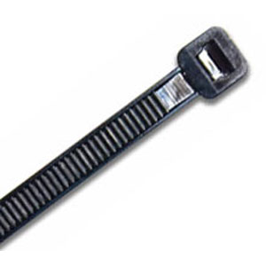 ISL 290 X 3.6MM UV NYLON CABLE TIE - BLK. - 100PK
