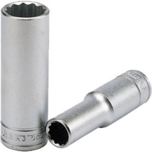TENG 1/2IN DR. DEEP SOCKET 17MM 12PNT
