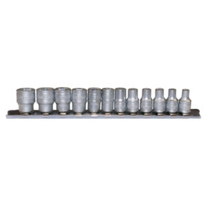 TENG 12PC 1/4IN DR. REG. MM SOCKET SET 4-13MM 6PNT