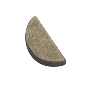 4MM X 19MM WOODRUFF KEY - 25PK