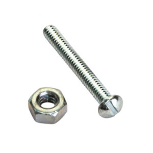 3/16IN X 3/4IN ANTI-THEFT (1-WAY) SCREWS & NUTS